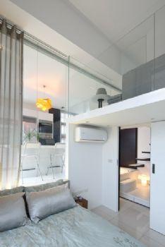 简约风打造Loft型时尚公寓简约卧室装修图片