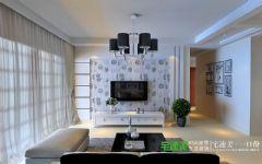 鼎邦家和园两室两厅86平简约风格装修效果图简约风格小户型