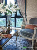 碧桂园白鹭湾88平三室两厅田园风格装修效果图田园客厅装修图片