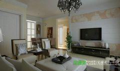 伟星金域华府三室两厅103平简欧风格装修效果图简约风格三居室