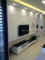 【苏州枫雅装饰公司】旭辉华庭76平清新完工啦现代简约客厅装修图片