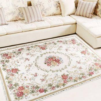 实用又美观地毯搭配设计现代客厅装修图片