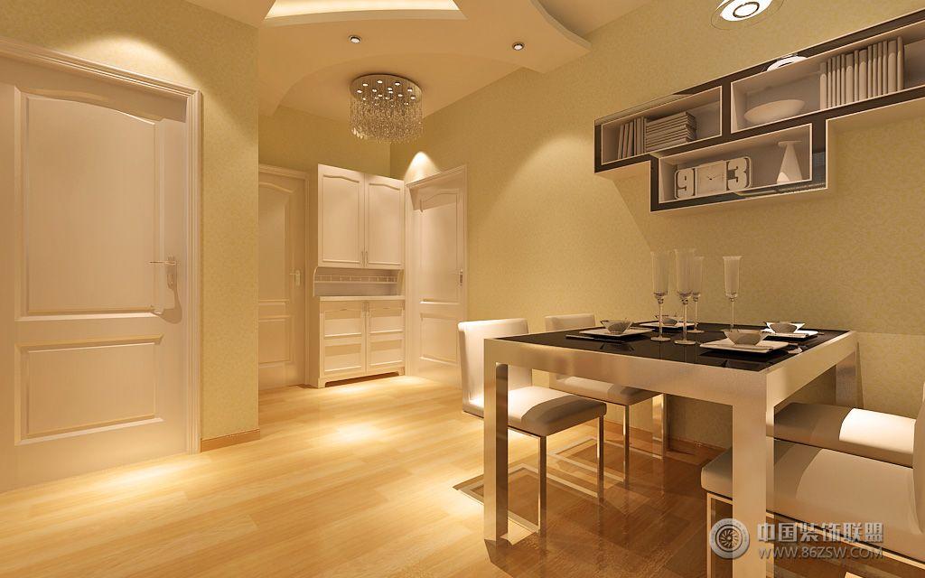 现代风格_现代二居室装修效果图_八六(中国)装饰联盟