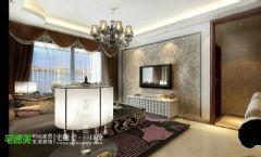春天里三室两厅122平简欧风格欧式风格三居室
