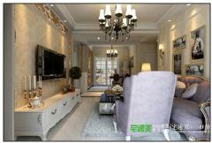 伟星金域华府三室一厅115平欧式风格装修效果图欧式风格三居室