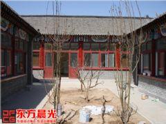 北京仿古装修公司怀柔四合院装修施工中式风格大户型