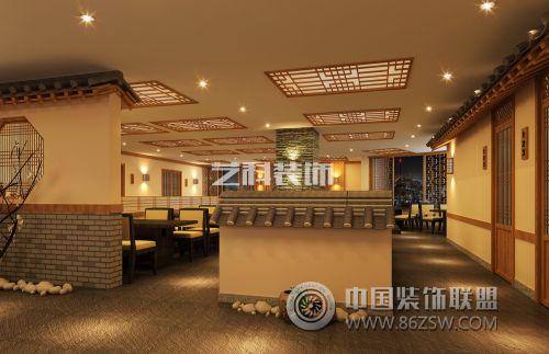 青岛餐厅装修设计之景福宫-单张展示-酒店装修效果图