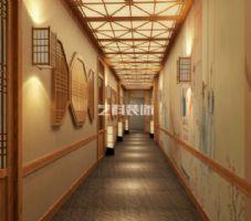 青岛餐厅装修设计之景福宫酒店装修图片