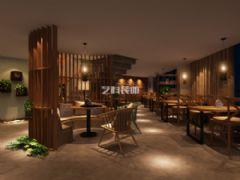 青岛餐厅装修设计之1966时尚餐厅