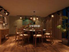 青岛餐厅装修设计之1966时尚餐厅酒店装修图片