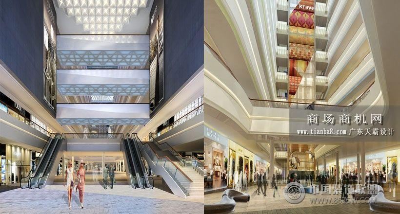 购物中心设计效果图:佛山国际家居博览城商场装修图片
