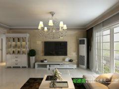 香江比华利山庄三室两厅109平简约风格装修效果图简约风格三居室