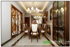 白金湾三室两厅116平中式风格装修效果图中式风格三居室