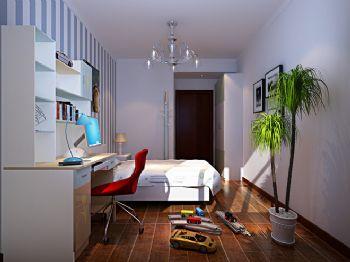 170平新中式装修案例中式卧室装修图片