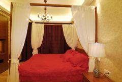 金地格林小城东南亚卧室装修图片