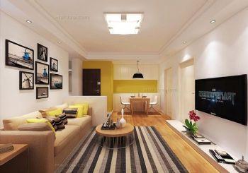 挂画设计彰显客厅的个性和品味
