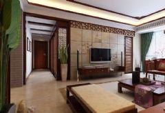 水岸星城现代中式风格中式风格四居室