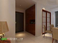 新华联梦想城三室两厅110平中式风格 上传 | 编辑 | 删除中式卧室装修图片