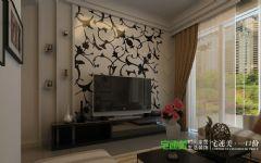 东方龙城两室两厅88平现代风格装修效果图现代客厅装修图片
