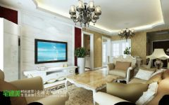 世茂滨江花园三室两厅135平欧式风格欧式风格三居室