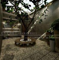 长沙炊烟食代漫咖啡设计咖啡厅装修图片