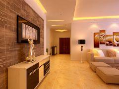 现代简约客厅装修图片