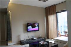 现代简约风格时尚黑白现代客厅装修图片