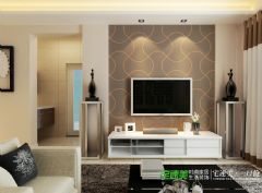 华强城美加印象两室两厅91平现代风格装修效果图现代客厅装修图片
