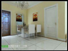 张家山领秀城两室两厅78平现代风格现代餐厅装修图片