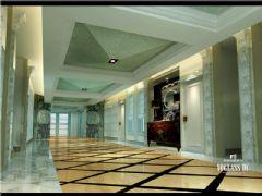 成都尚层装饰别墅装修保利心语800平新古典装修案例欣赏古典客厅装修图片