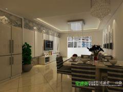 地大橡树园两室两厅90平现代风格装修效果图现代客厅装修图片