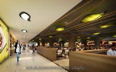 城市综合体效果图设计特性:要求城市综合体效果图展示性与功能性设计相结合商场装修图片