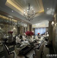 【龙发装饰】复地东湖国际现代餐厅装修图片