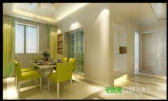 金浩仁和天地四室两厅135平欧式风格欧式餐厅装修图片