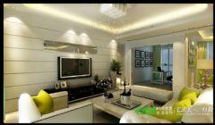 金浩仁和天地四室两厅135平欧式风格欧式客厅装修图片