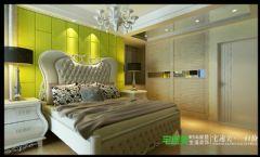 金浩仁和天地四室两厅135平欧式风格欧式卧室装修图片