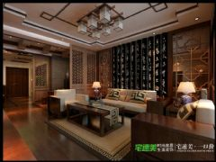 张家山领秀城徽派风格227平跃式户型中式风格别墅