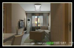 柏庄春暖花开两室两厅74平现代风格现代客厅装修图片