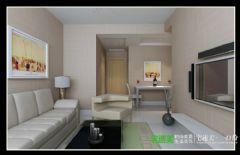 柏庄春暖花开两室两厅74平现代风格现代风格小户型