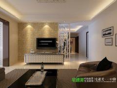 华强城美加印象三室两厅121平现代风格装修效果图现代风格三居室