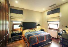 成都家和装饰装修案例-麓山国际美式卧室装修图片