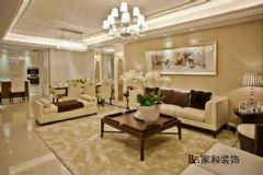 成都家和装饰装修案例-东苑锦江畔欧式风格三居室