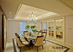 成都家和装饰装修案例-东苑锦江畔欧式餐厅装修图片