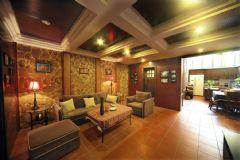 成都家和装饰装修案例-盛世中华东南亚客厅装修图片