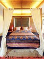 成都家和装饰装修案例-盛世中华东南亚卧室装修图片
