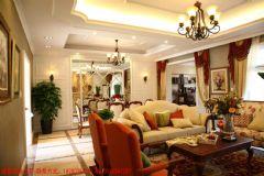 成都家和装饰装修案例-南城都汇古典风格二居室