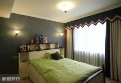 成都家和装饰装修案例-斑竹欣苑美式卧室装修图片