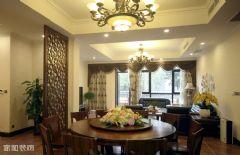 成都家和装饰装修案例-斑竹欣苑美式客厅装修图片
