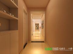 华强城美加印象三室两厅119平现代简约风格装修效果图现代简约玄关装修图片