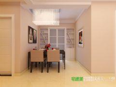 华强城美加印象三室两厅119平现代简约风格装修效果图现代简约风格三居室